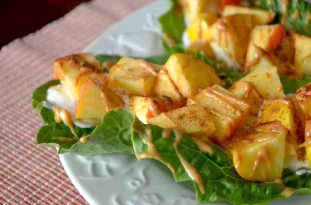 Lettuce Apples wraps