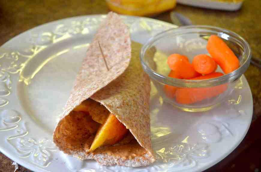 wrap carrots