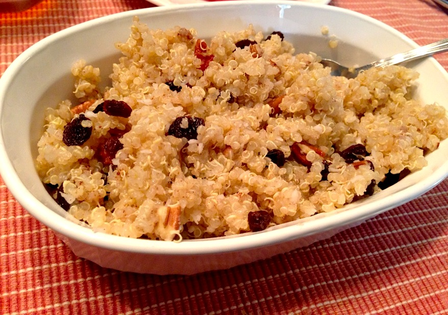 maple pecan quinoa